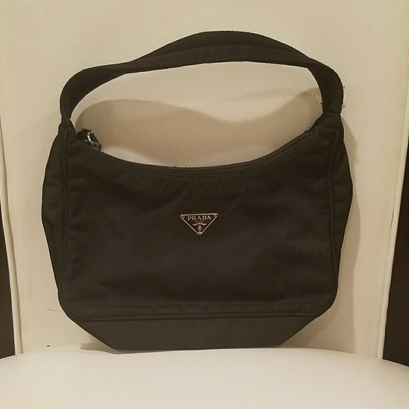 c01272376b62 Prada Bags | Tessuto Black Nylon Mini Sport Bag | Poshmark